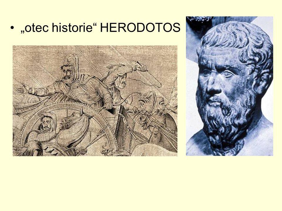 """otec historie"" HERODOTOS"