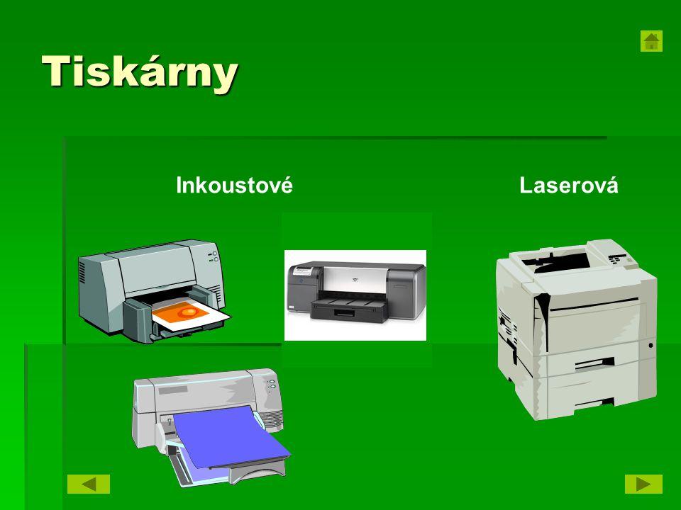 Tiskárny InkoustovéLaserová