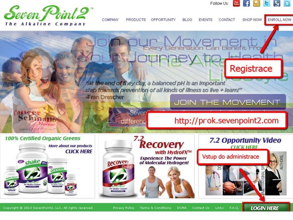 Registrace do Sevenpoint2 – Enroll now 1.Nejdříve se přihlásíte k odkazu na http//saksa.www.sevenpoint2.com.http//saksa.www.sevenpoint2.com 2.Klik na Enroll Now - registrace