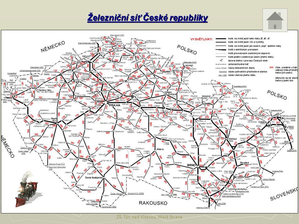 Železniční síť České republiky ZŠ, Týn nad Vltavou, Malá Strana