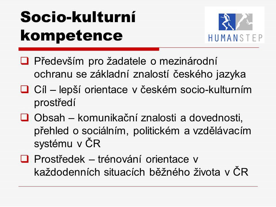 Socio-kulturní kompetence