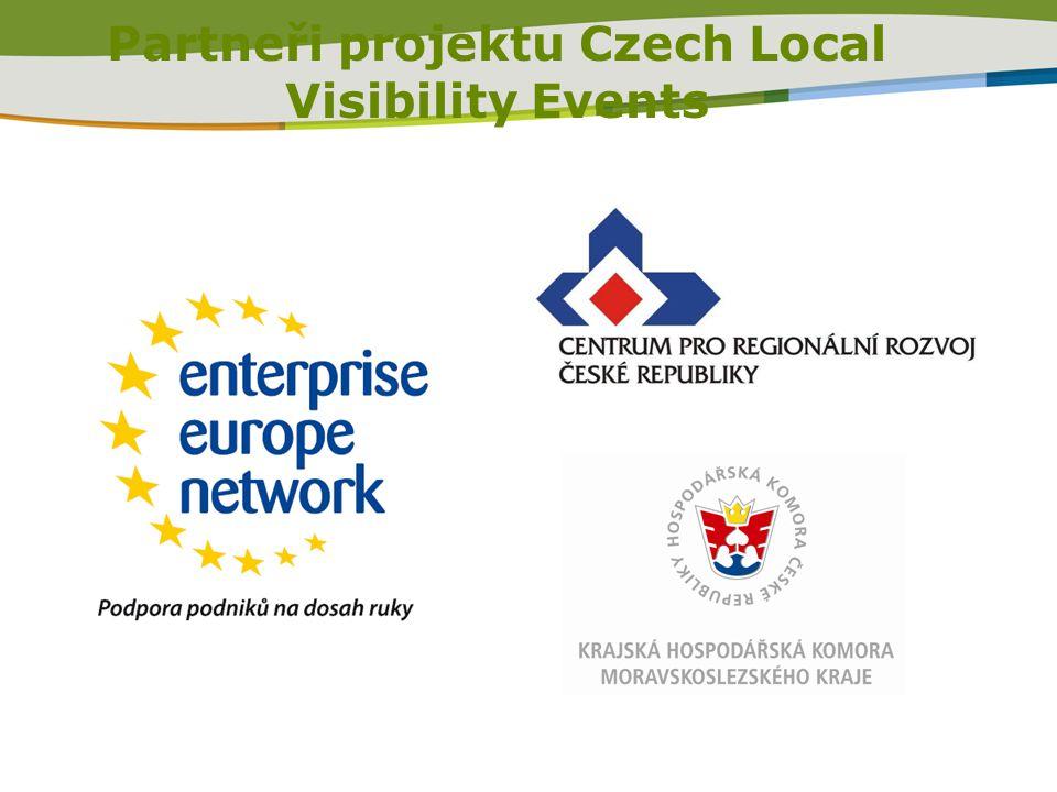Partneři projektu Czech Local Visibility Events