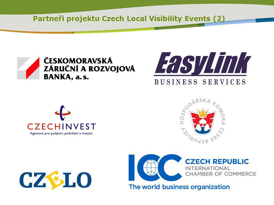 Partneři projektu Czech Local Visibility Events (2)