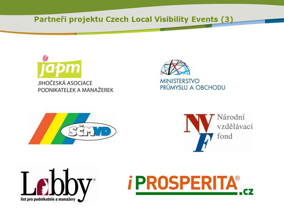 Partneři projektu Czech Local Visibility Events (3)