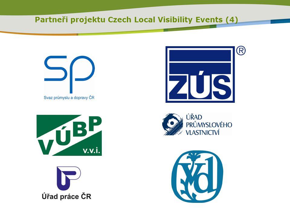 Partneři projektu Czech Local Visibility Events (4)