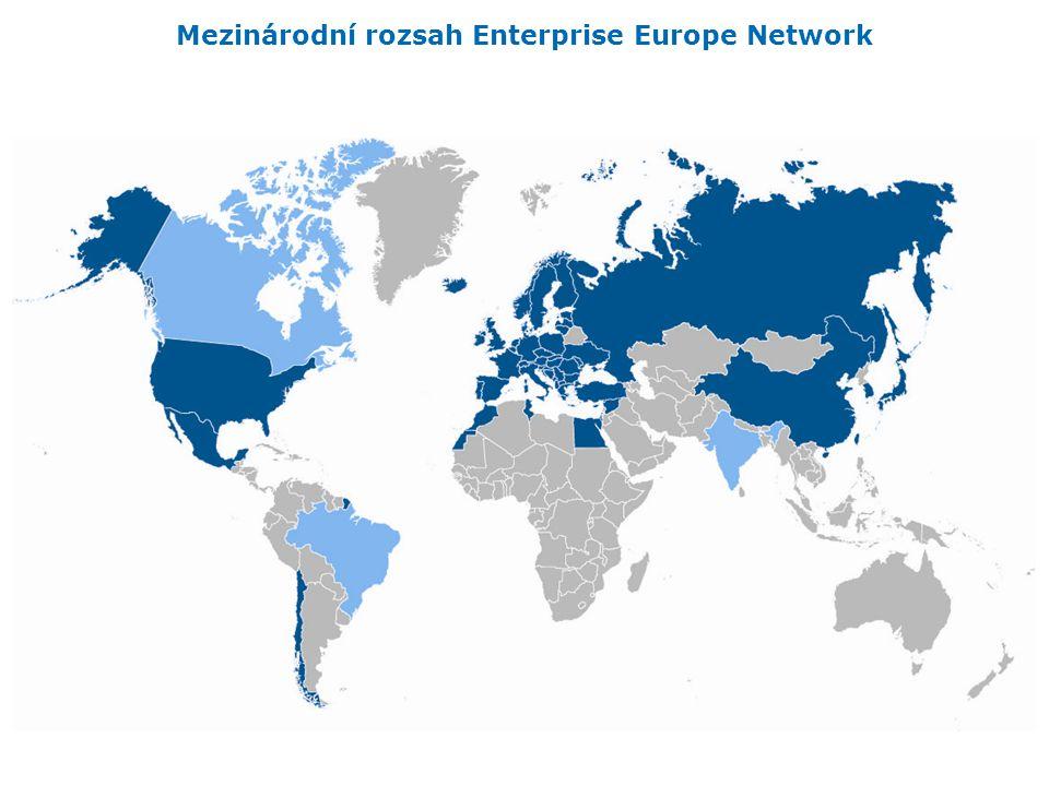 Mezinárodní rozsah Enterprise Europe Network