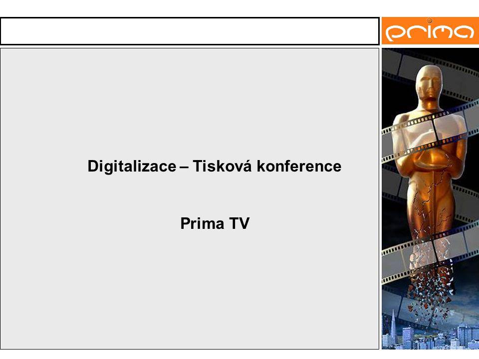 Digitalizace – Tisková konference Prima TV