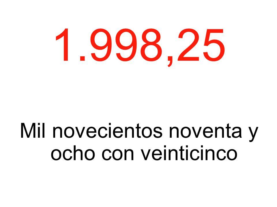 1.998,25 Mil novecientos noventa y ocho con veinticinco