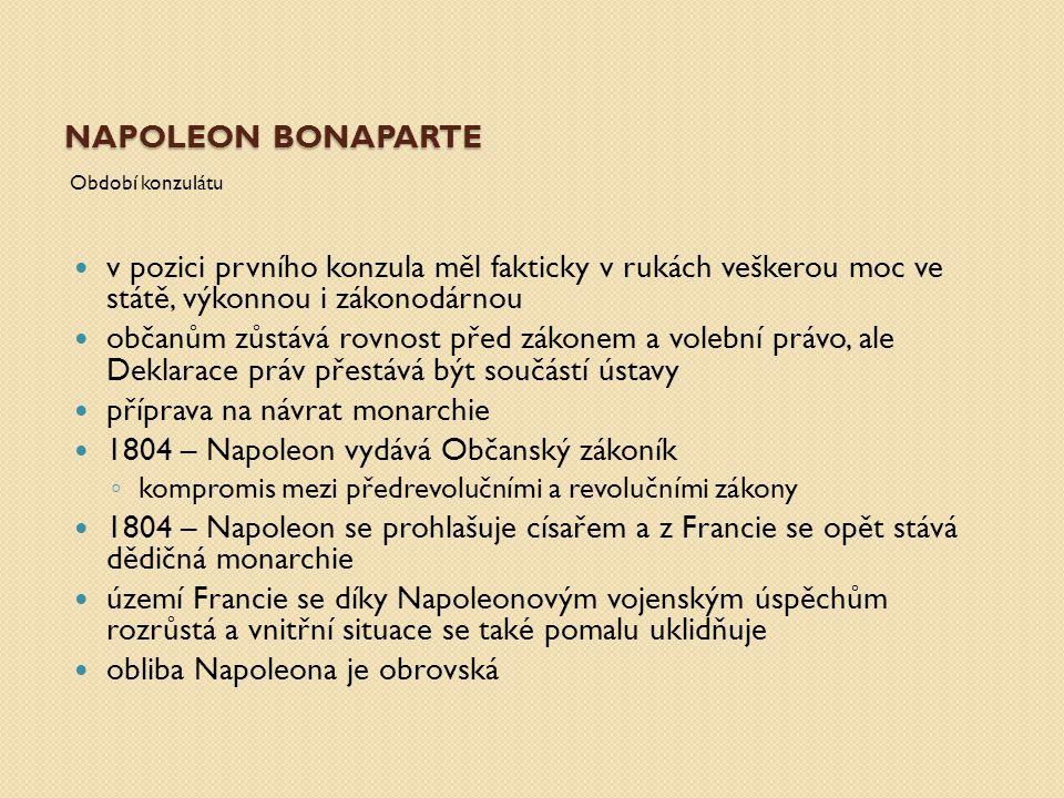 Napoleon Bonaparte 1.