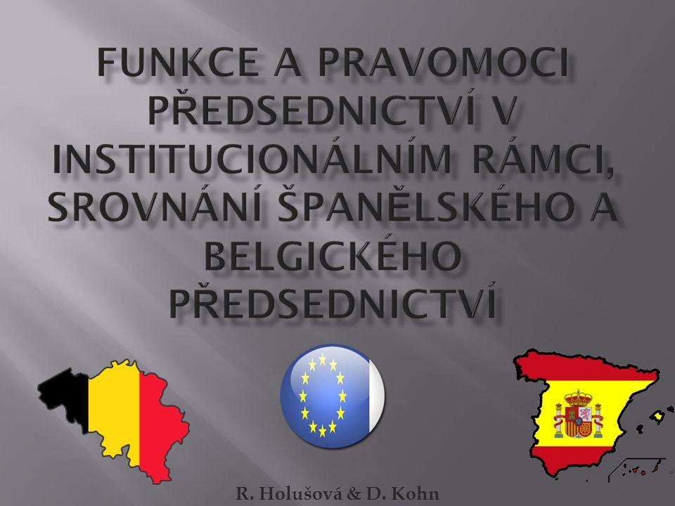 R. Holušová & D. Kohn