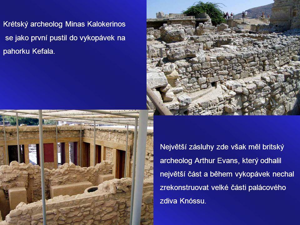 Snad je to onen pověstný vstup a východ labyrintu odkud se vrátil vítěz souboje titánů. Okolo roku 1450 př.n.l zničil vše výbuch sopky na ostrově Ther