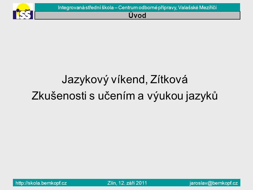 Závislost Zlín, 12.září 2011 Úvod Ing.