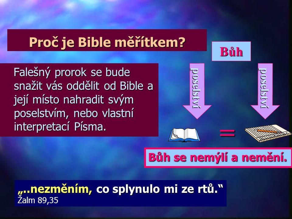 """Sedm klíčů k rozpoznání proroka n""""n""""n""""n""""Přijali evangelium s velkou dychtivostí a každý den zkoumali v Písmu, zdali je to tak, jak zvěstuje Pavel."""" Iz"""