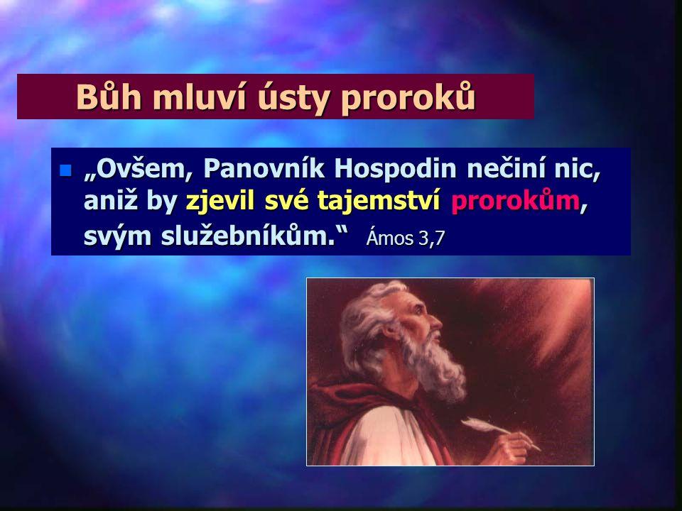 """Bůh hledá spojení n""""n""""n""""n""""Mnohokrát a mnohými způsoby mluvíval Bůh k otcům ústy proroků…"""" Židům 1,1"""