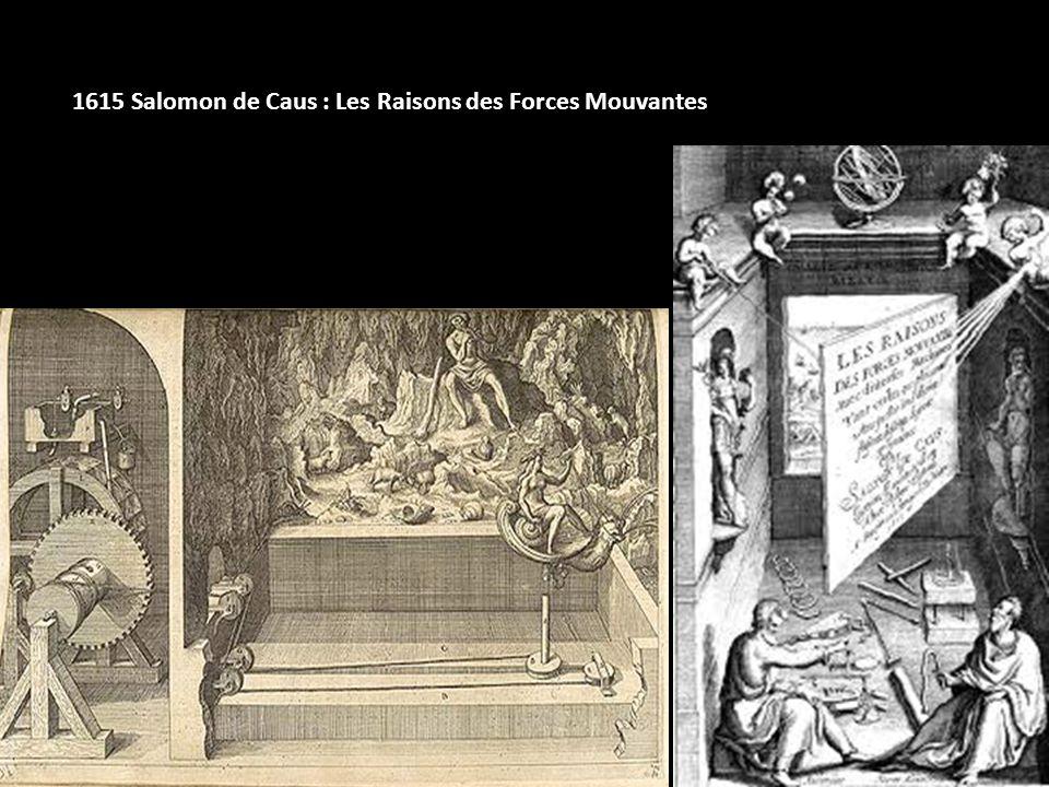 1615 Salomon de Caus : Les Raisons des Forces Mouvantes