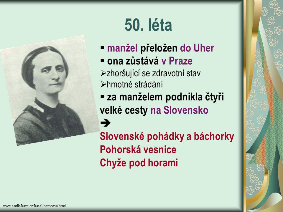 www.mlp.cz/nemcova_bibliografie.htm Na Chodsku je zastihl revoluční rok 1848. Za aktivní účast následovalo pronásledování, překládání na další místa.