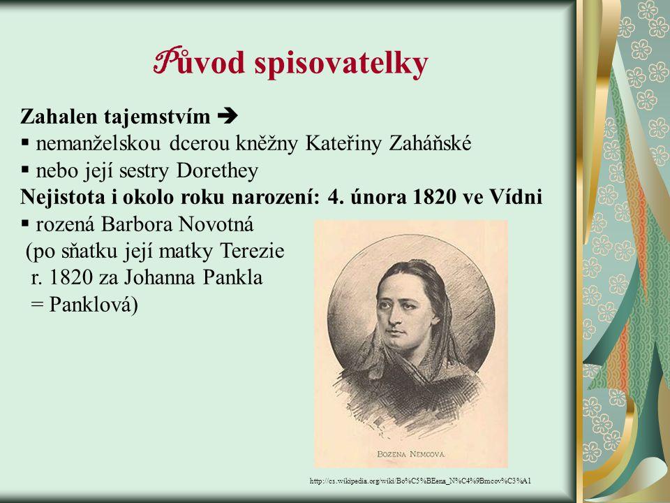 B ožena N ěmcová - česká spisovatelka - zakladatelka novodobé prózy www.avicenna.cz/item/bozena-nemcova