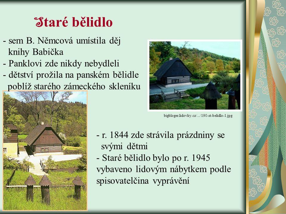 Dětství www.kudyznudy.cz/en/regiony/vychodni- cechy/ www.skandinavskydum.cz/.../ratiborice.jpg  1821 se Panklovi přestěhovali do Ratibořic  sem za n