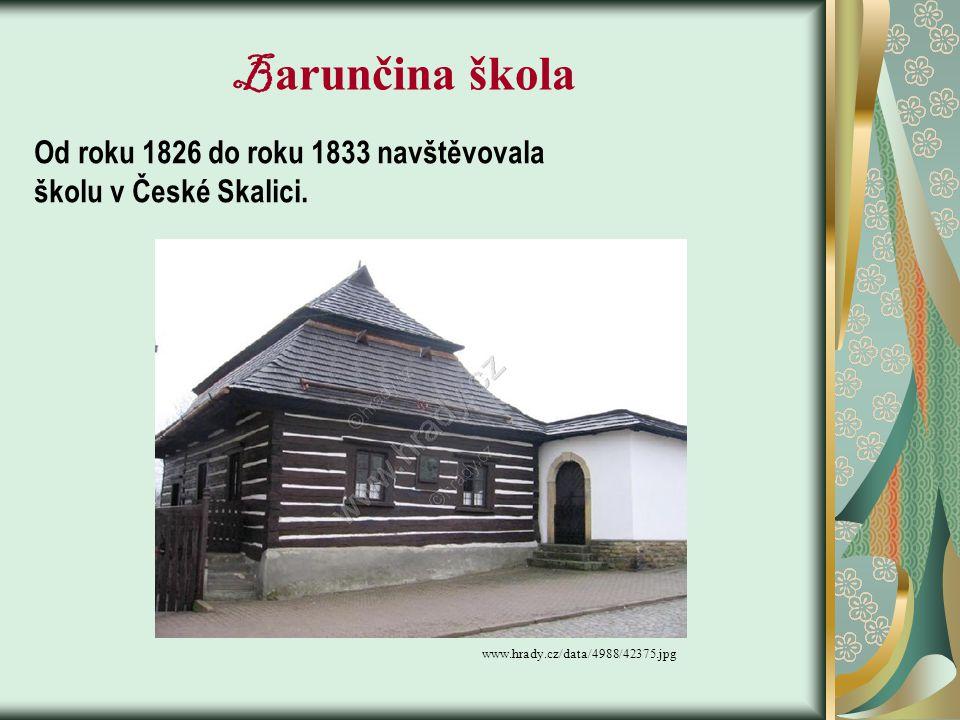 bigbloger.lidovky.cz/.../190-st-belidlo-1.jpg S taré bělidlo - sem B. Němcová umístila děj knihy Babička - Panklovi zde nikdy nebydleli - dětství prož