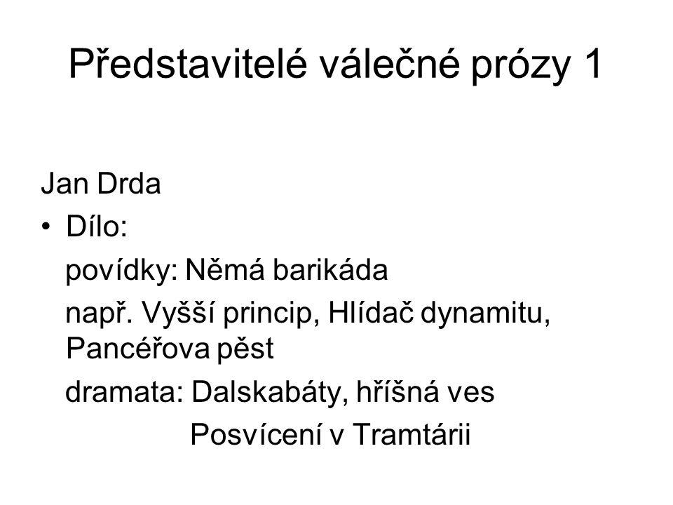 Konec prezentace Název: Rysy a charakter prózy od konce 2.