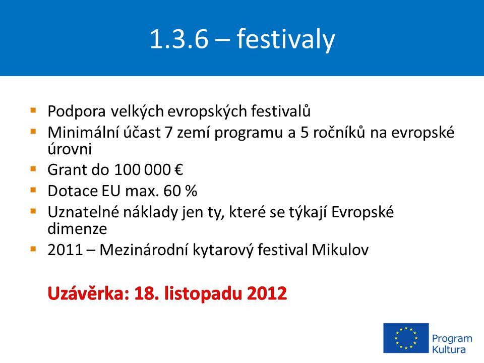 1.3.6 – festivaly