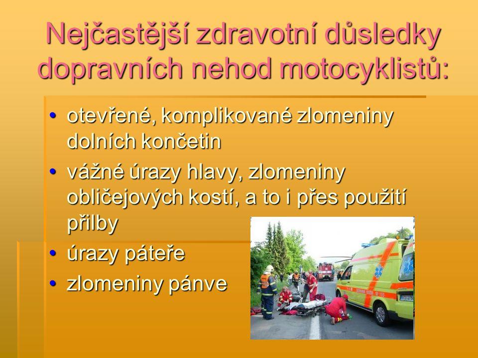 Úmrtí motocyklistů v roce 2009: