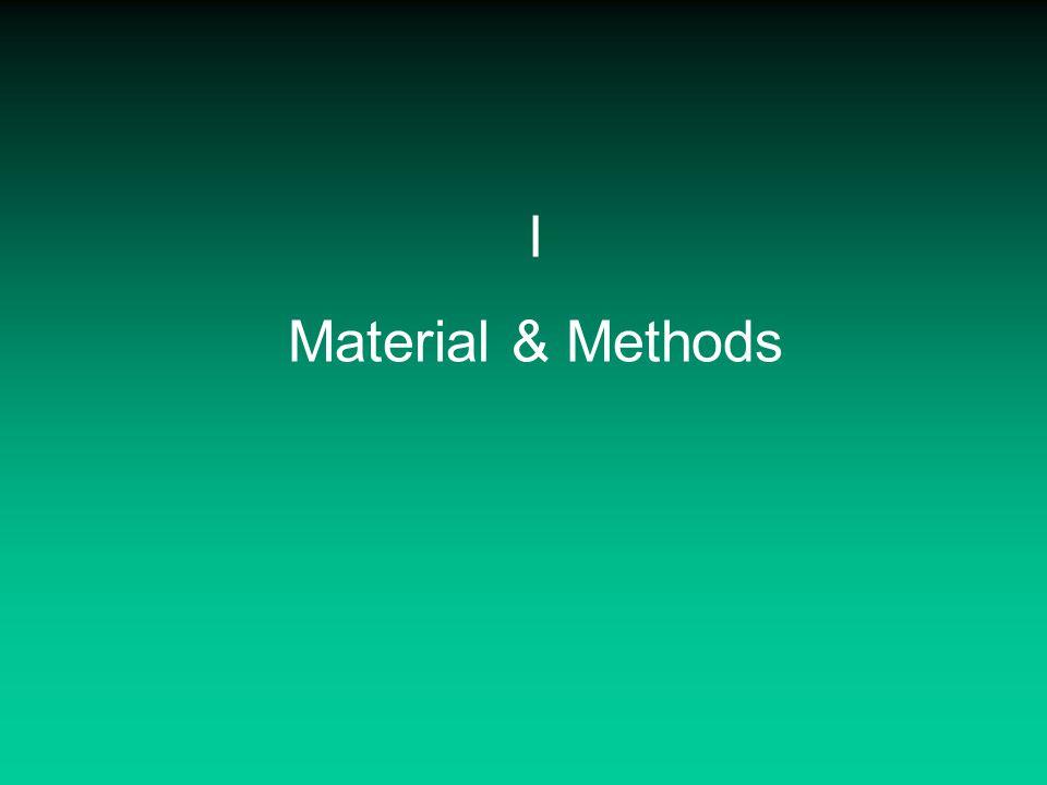 I Material & Methods
