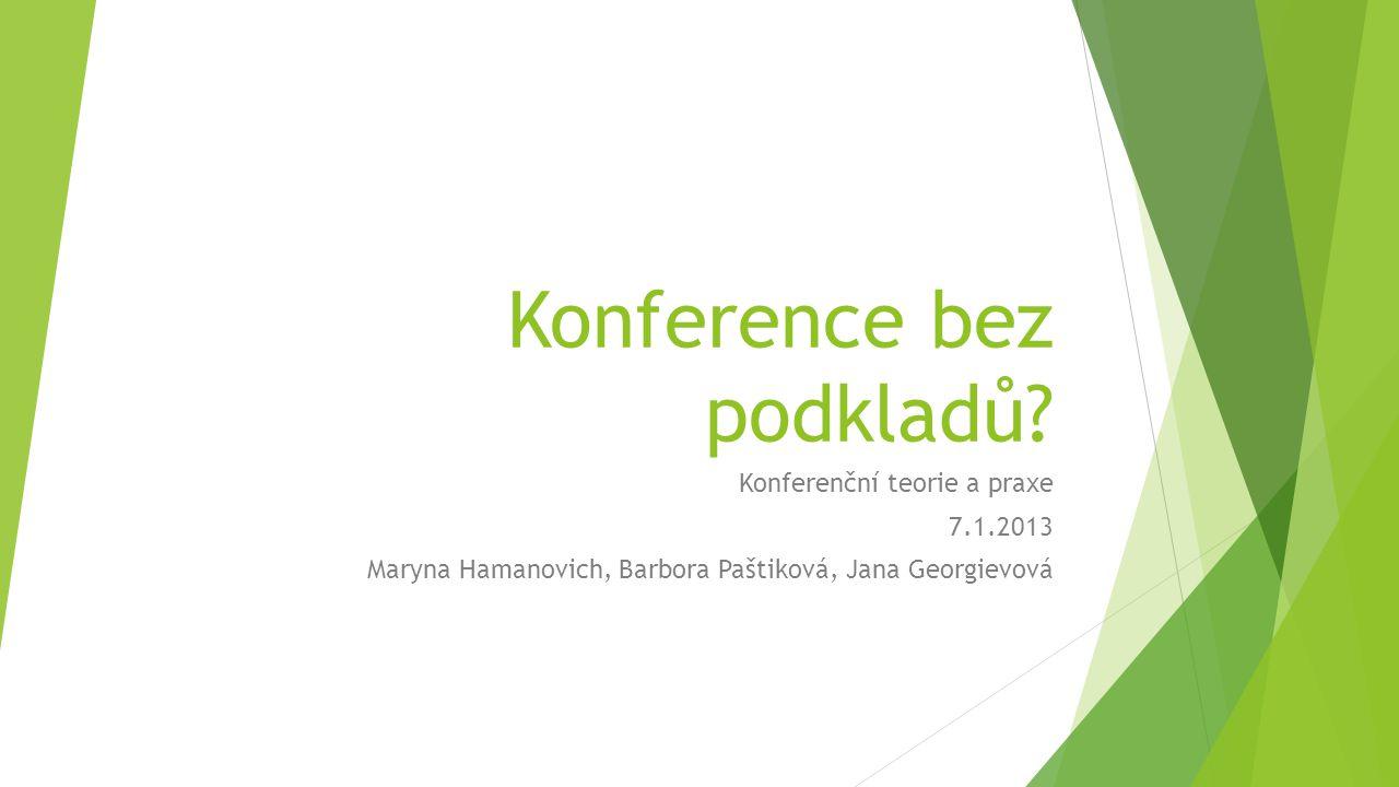 Mezinárodní odborná konference o nové generaci fotovoltaických článků, AJ – CS, žádné podklady předem