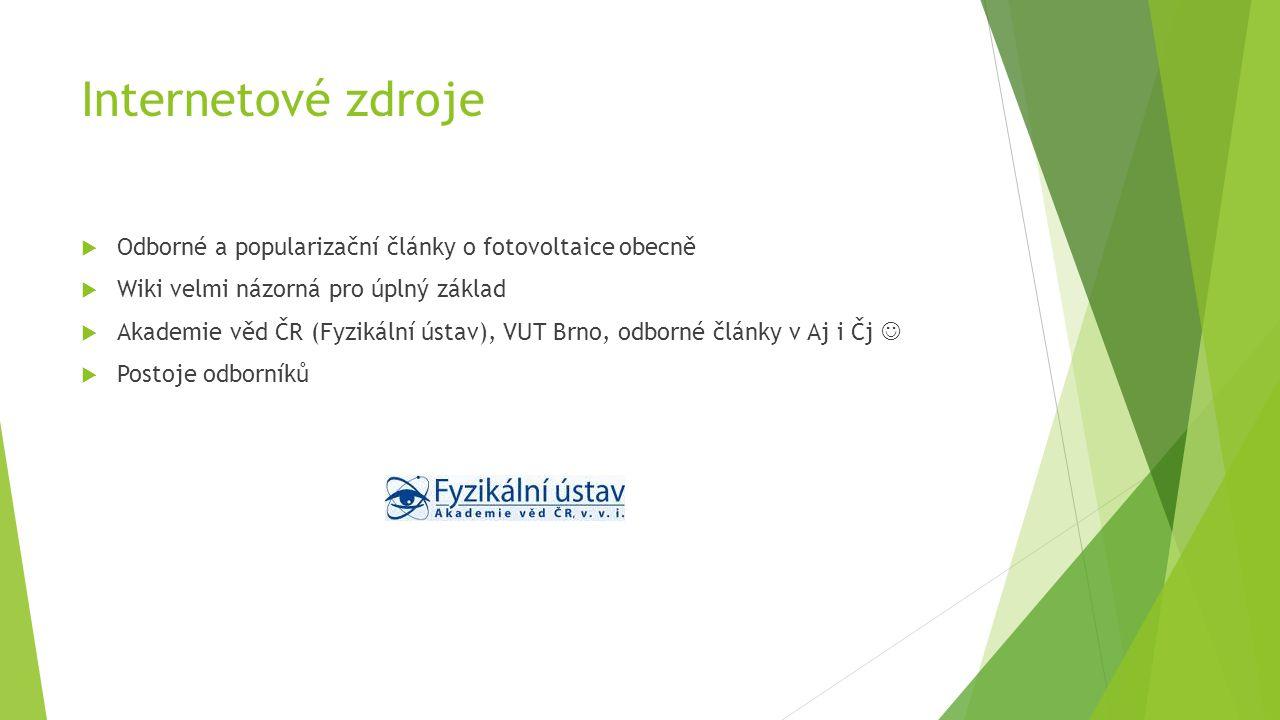 Materiály předchozích konferencí  8.České fotovoltaické konference, která se konala 14.