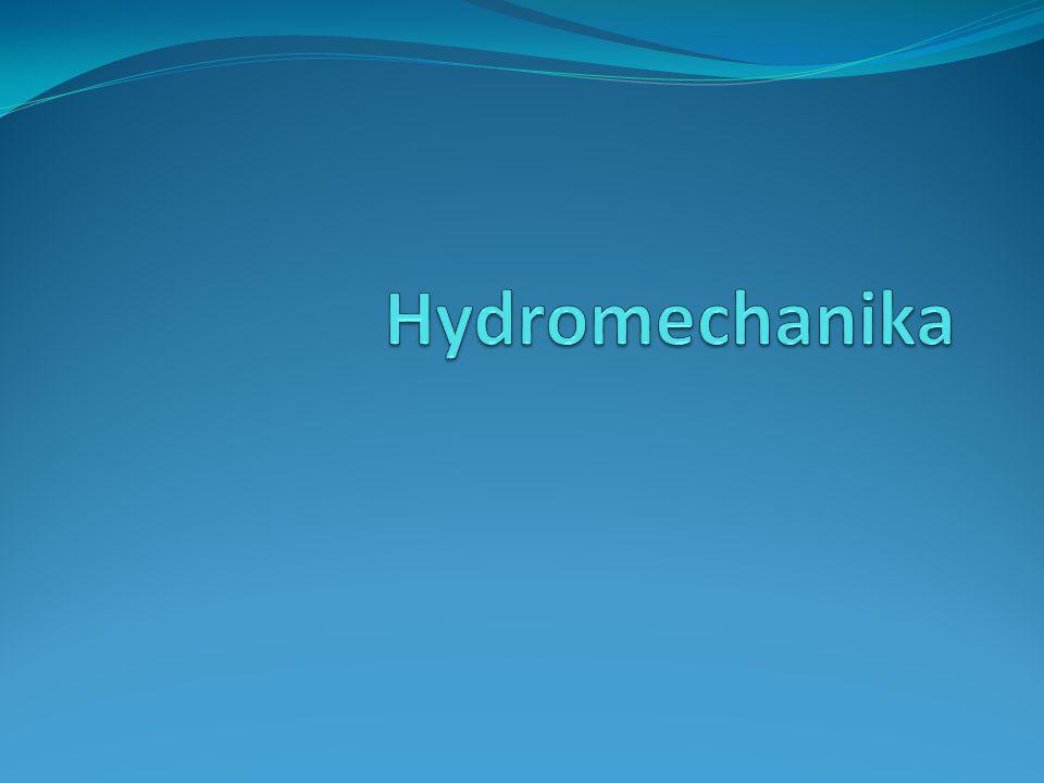 Hydrostatika Všude v kapalině působí hydrostatický tlak, zvyšuje se s hloubkou p=h.ρ.g, kde ρ je hustota kapaliny Z rozdílu větší tlakové síly působící na spodní část tělesa (ve větší hloubce) a menší tlakové síly působící na horní část tělesa vychází vztlaková síla F vz=V.