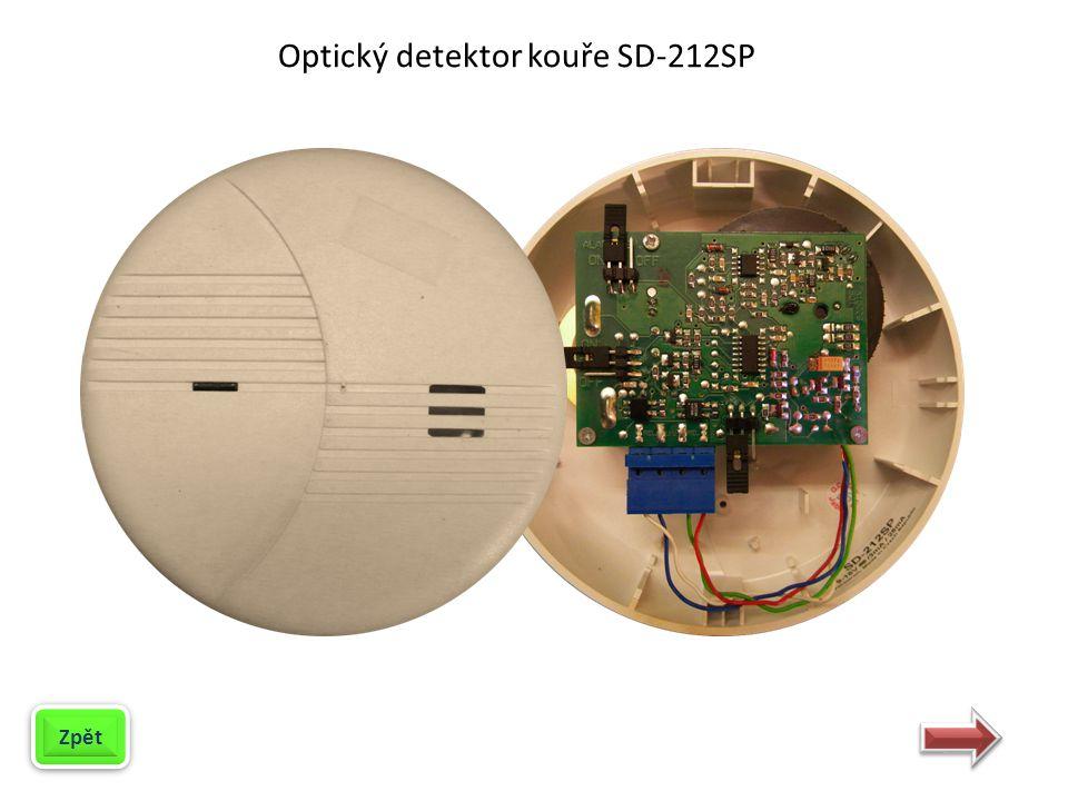 Optický detektor kouře SD-212SP slouží k detekci vzniku požáru.