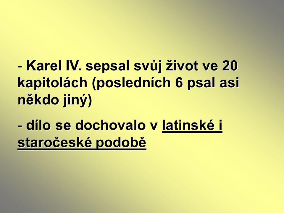 Téma : Literatura doby Karla IV.– 7. ročník Použitý software: držitel licence - ZŠ J.
