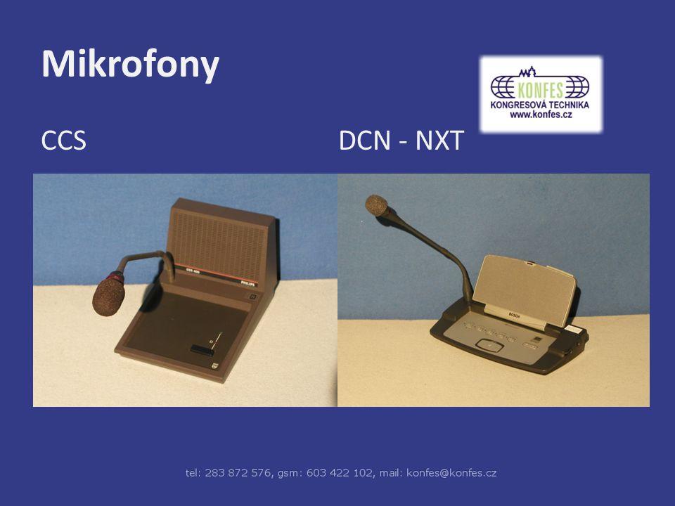 Mikrofony CCS DCN - NXT