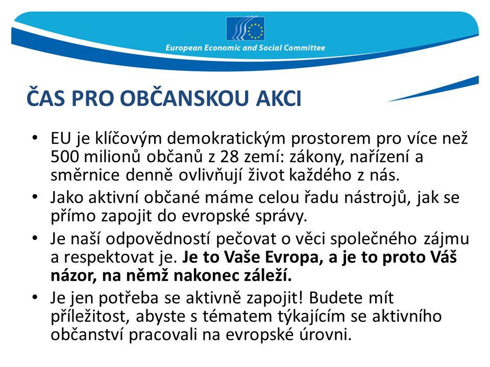 EU je klíčovým demokratickým prostorem pro více než 500 milionů občanů z 28 zemí: zákony, nařízení a směrnice denně ovlivňují život každého z nás. Jak