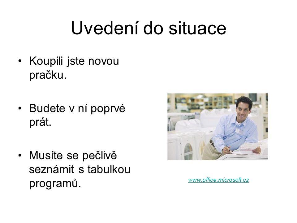 Zdroje http://www.whirlpool.cz/ke-stazeni/prirucky http://www.office.microsoft.cz