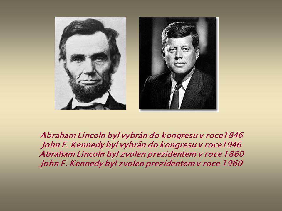 Abraham Lincoln byl vybrán do kongresu v roce1846 John F.