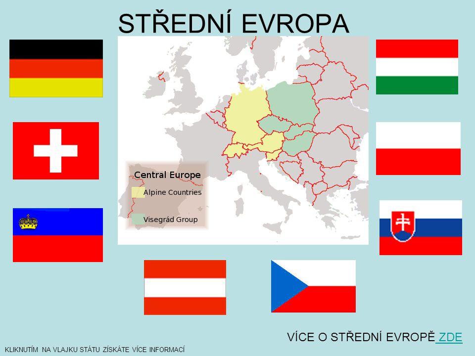 Státy Střední Evropy: 1) Státy tzv.