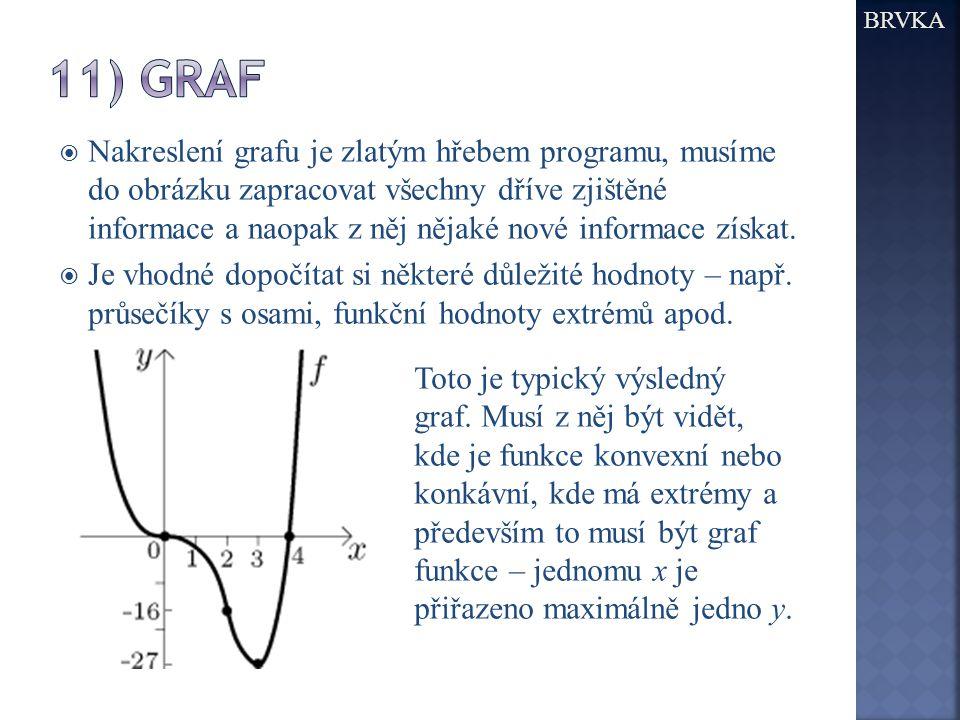  Nakreslení grafu je zlatým hřebem programu, musíme do obrázku zapracovat všechny dříve zjištěné informace a naopak z něj nějaké nové informace získat.