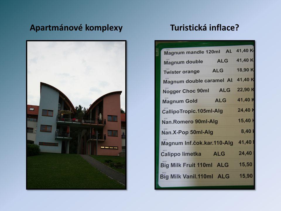 Apartmánové komplexyTuristická inflace?