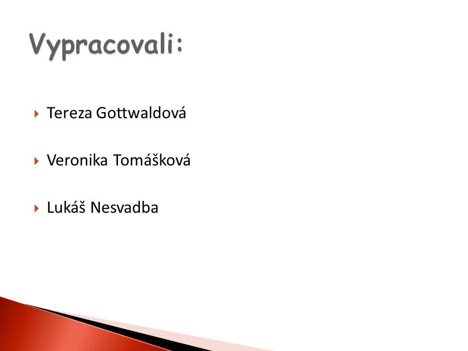  Tereza Gottwaldová  Veronika Tomášková  Lukáš Nesvadba