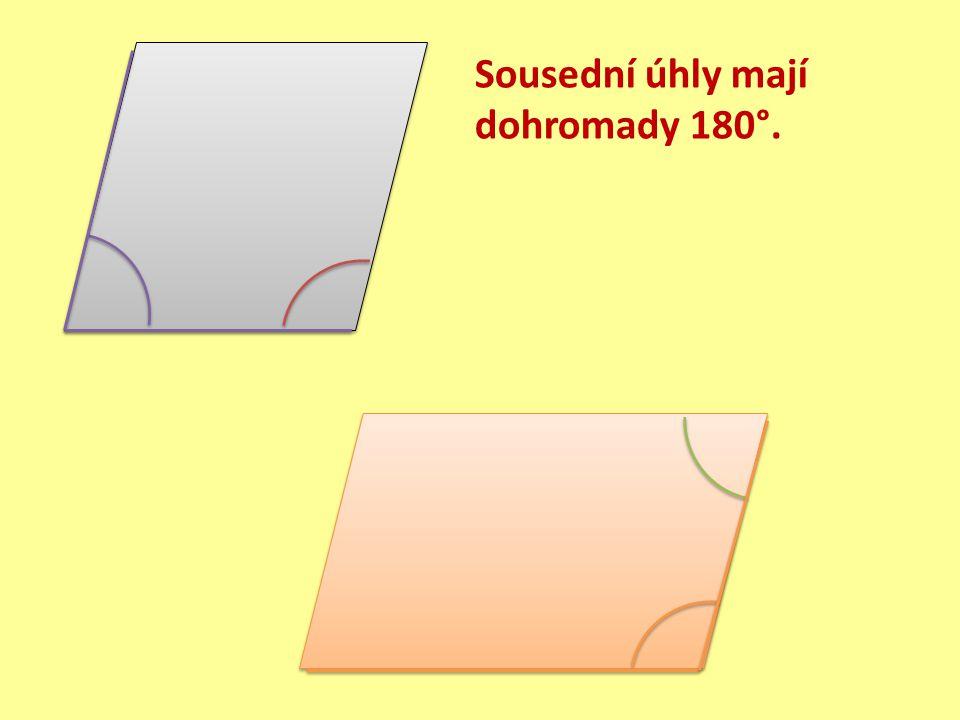 Procvičování 1.Zjistěte, zda je kosočtverec (kosodélník) osově či středově souměrný.
