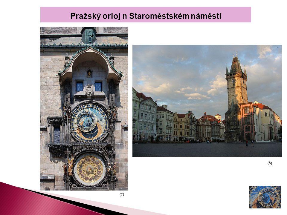 Pražský orloj n Staroměstském náměstí (7) (8)