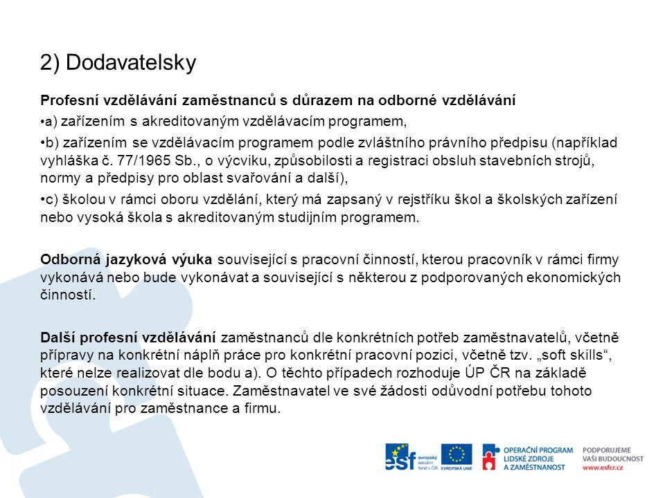 Vzdělávací aktivity možné od 1.9. 2013, max. do 30.