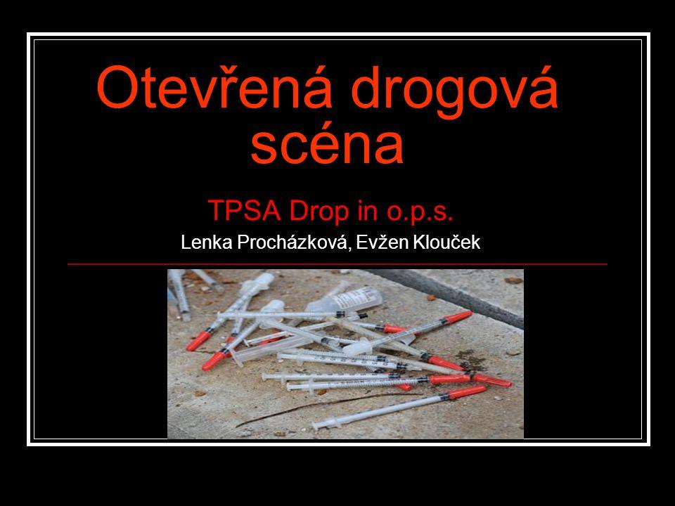 Otevřená drogová scéna TPSA Drop in o.p.s. Lenka Procházková, Evžen Klouček