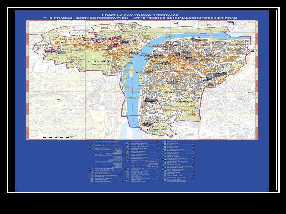 Mapa Prahy 1