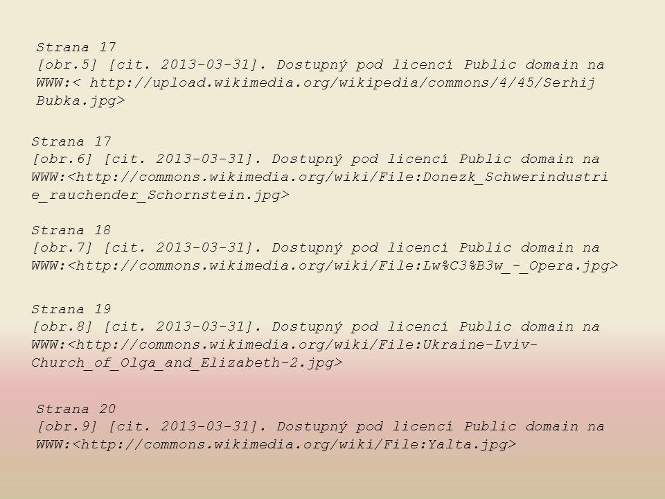Strana 17 [obr.6] [cit. 2013-03-31]. Dostupný pod licencí Public domain na WWW: Strana 18 [obr.7] [cit. 2013-03-31]. Dostupný pod licencí Public domai