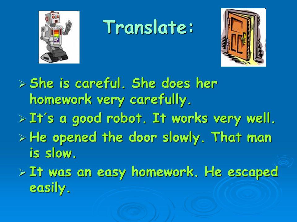 Poznámky:Tvoření příslovcí  Přídavná jména - odpovídají na otázku WHAT (jaký).