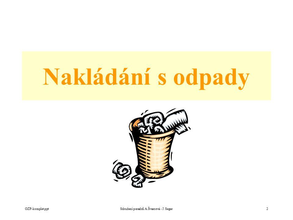 Nakládání s odpady OZP-komplet.pptSdružení poradců A.Švarcová - J. Seger2