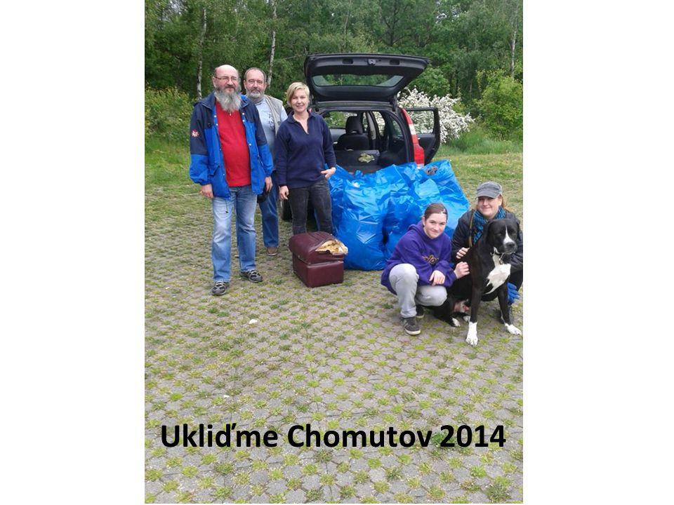 Ukliďme Chomutov 2014