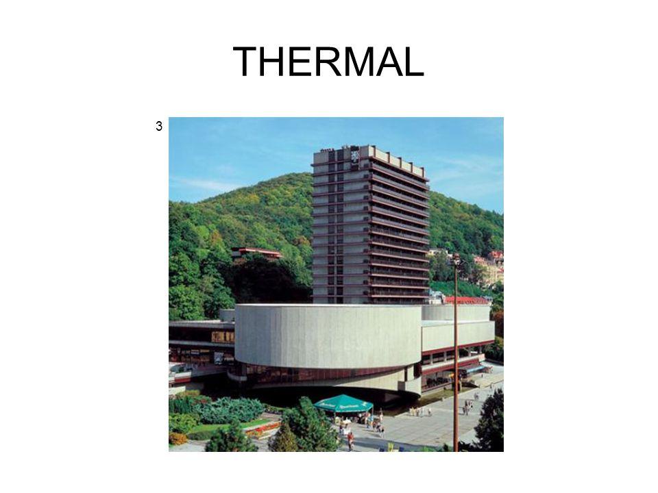 budován 1967 – 1976 projekt manželů Machoninových kino, konferenční, promítací a divadelní sály, bazén, sauna od 1978 každoročně Mezinárodní filmový festival